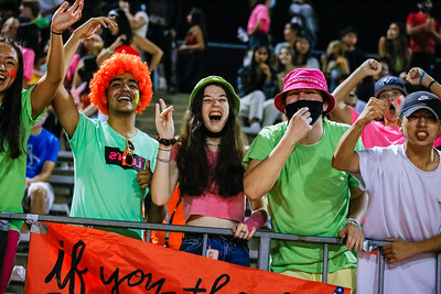 2021 NHS Game 1 Fans and ASB - Neon!