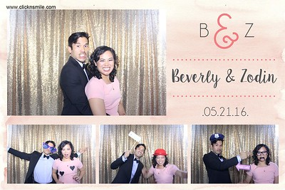 Beverly & Zodin wedding