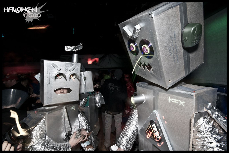 dj subvert at shambhala village stage deceptikon masks 2010-37.jpg