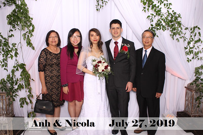 Anh & Nicola Wedding - July 27, 2019