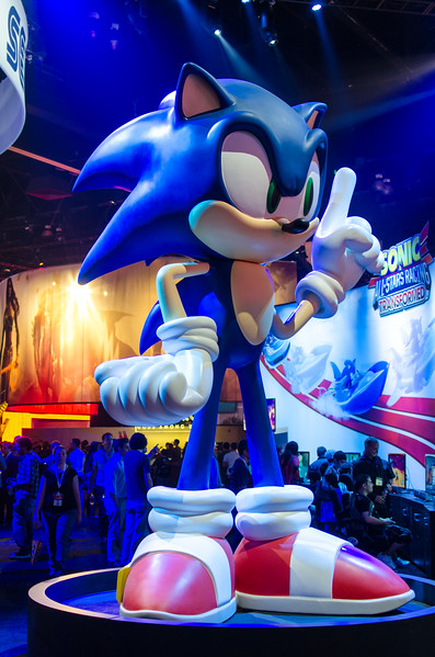 Sonic at E3 2012