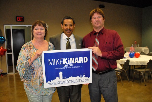 """LIKE MIKE"" Kinard Campaign Launch June 1, 2017"
