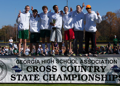 Westminster Boys XC State 2012