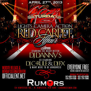 4-20-13 DJ PRECISE & L-BOOGS Rumors Nightclub