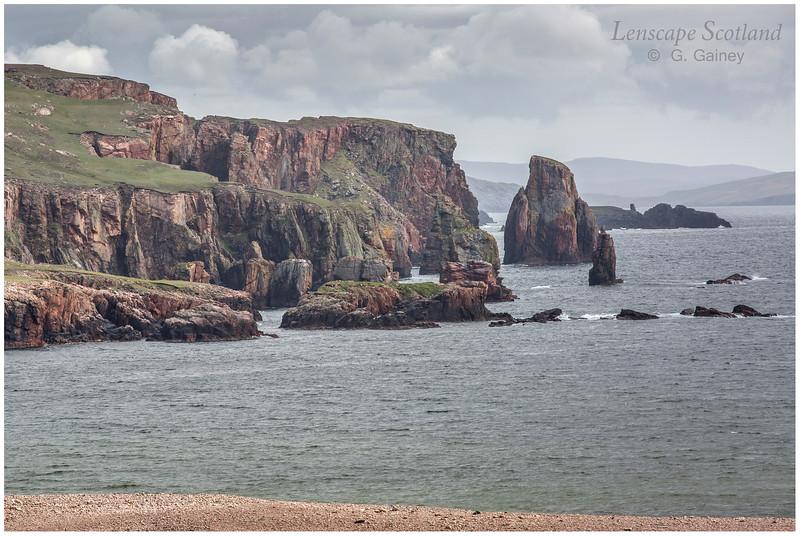 Cliffs at The Neap, Esha Ness (north Shetland mainland)