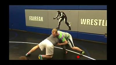 Defending the front headlock- Dump