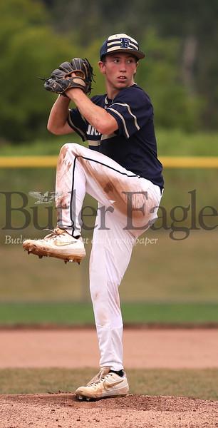 Freeport v Cranberry Freeport starting pitcher #8. Seb Foltz/Butler Eagle 07/23/20