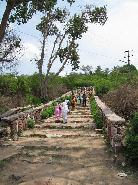 Footpath up Chamundi Hill