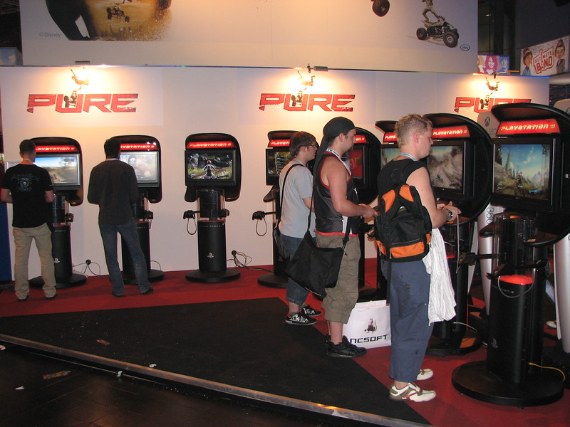 Pure game at Games Convention 2008