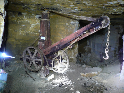 Swan Mine,near Corsham 2009.