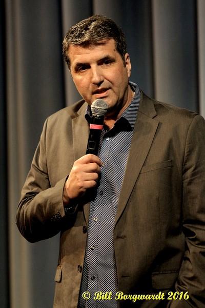 Host Graham Neil - Gene Gebo at Festival Place 008