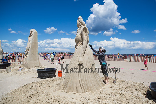 2019-6-22 Hampton Beach Sand Sculpting Competition