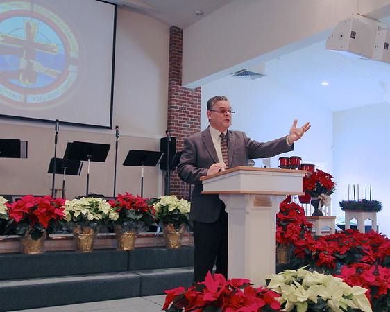 Bob Becker preaching pics