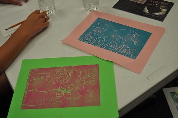 Styrofoam Printmaking 2013