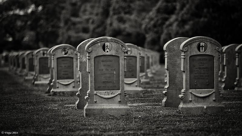 Militaire begraafplaats Veltem-Beisem.
