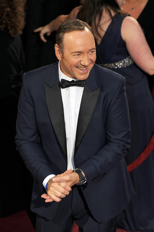 . Kevin Spacey attends the 86th Academy Awards at the Dolby Theatre in Hollywood, California on Sunday March 2, 2014 (Photo by John McCoy / Los Angeles Daily News)