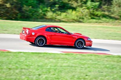 2021 SCCA TNiA  Aug 27 Pitt Nov Red Mustang