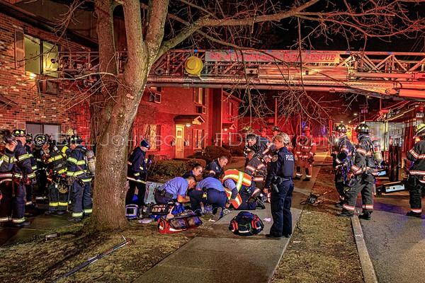 Structure Fire - Bridge Park Apartments 20 N. Bridge St. - City of Poughkeepsie FD - 2/22/2020