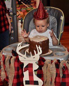 2017 03 Griffin's 1st Birthday - Best of Family Pics