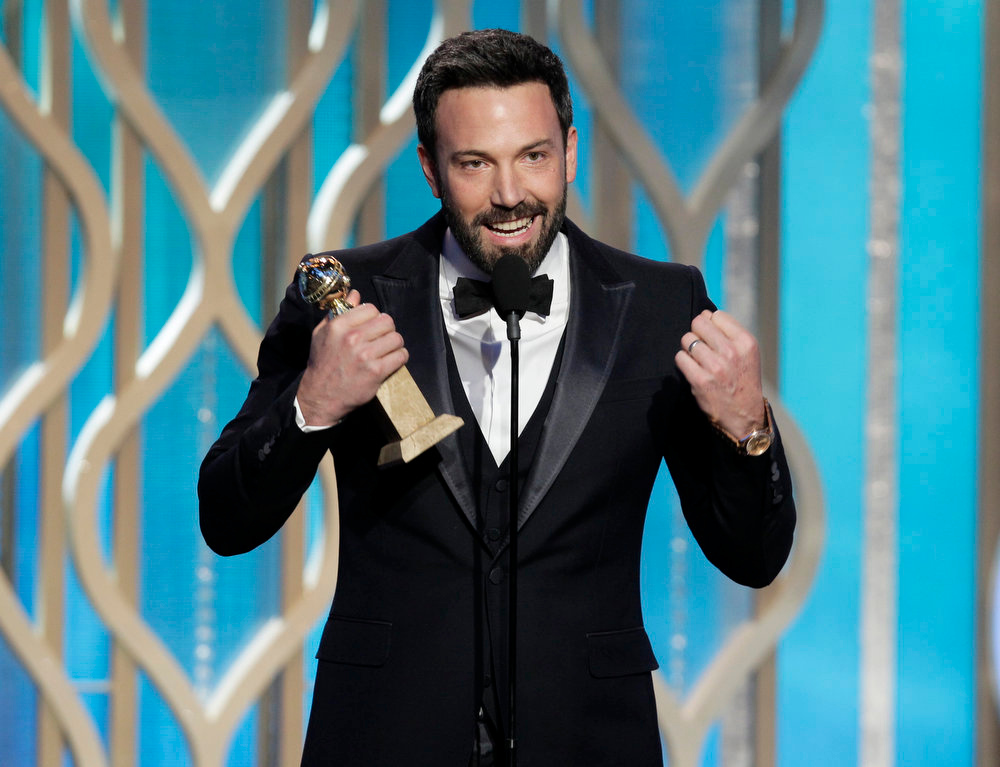 . Best Director - Motion Picture: Ben Affleck, Argo