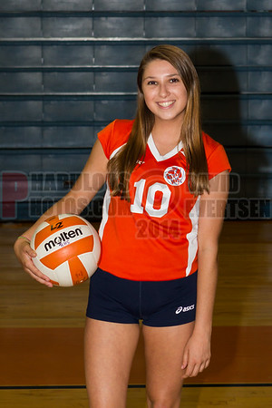 Girls Varsity Volleyball #10 - 2014