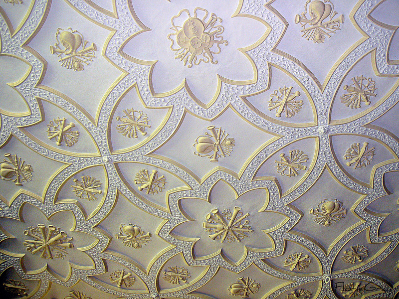 Detail, Wroxton Abbey Library Ceiling