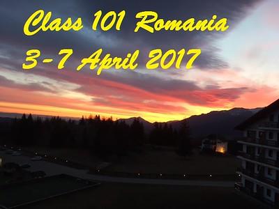 Romania Class 101 April 3-7 2017