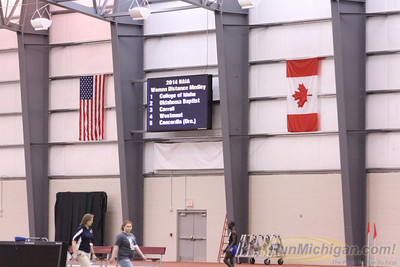 W-Distance Medley Relay-2014 NAIA Indoor Track and Field National Championships