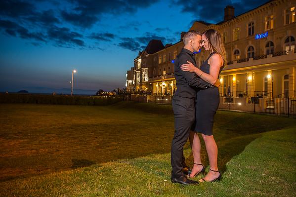 She said yes! Lindsey & Savvas Proposal