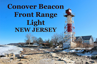 Conover Beacon Front Range Light, New Jersey