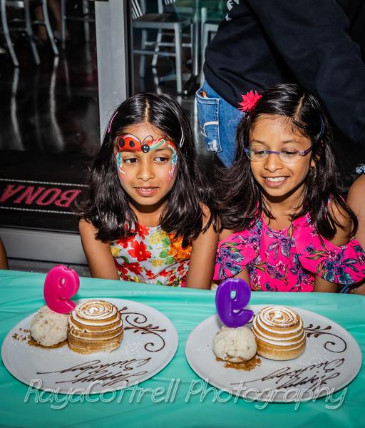 Kara and Lyla's 9th birthday