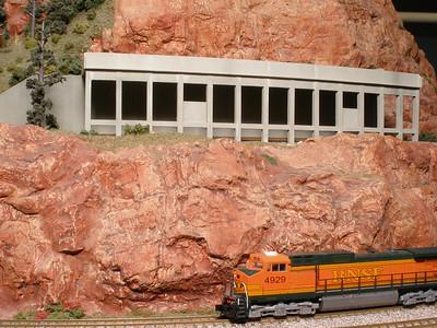 Ernie Poole's Montana Rail Link (N Scale