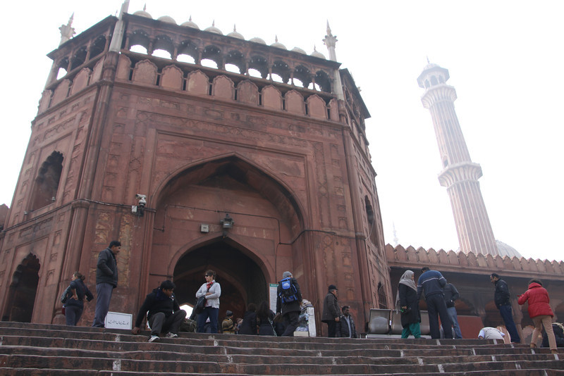 Jama Masjid is the largest mosque in India