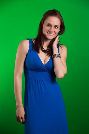 Stephanie Blue Dress