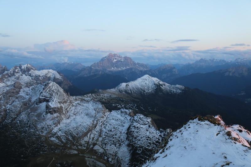 View from Rifugio Lagazuoi