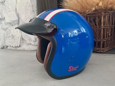 Steve McQueen Helmets on IMA