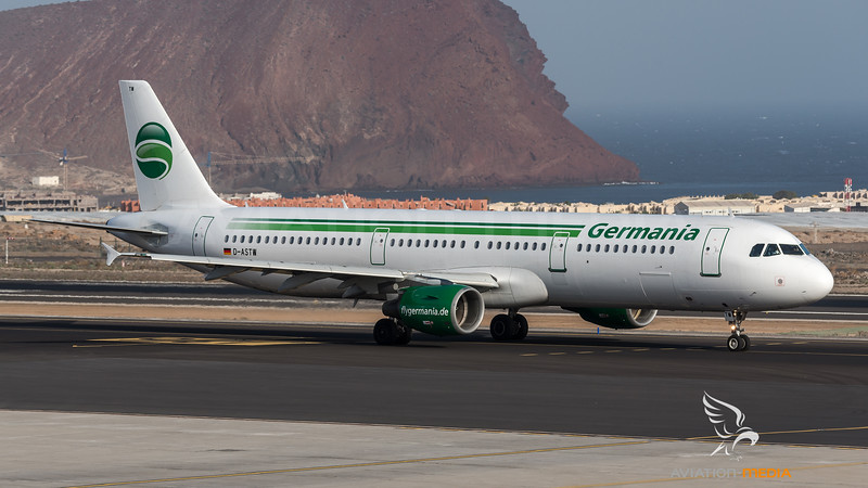 Germania / Airbus A321-211 / D-ASTW