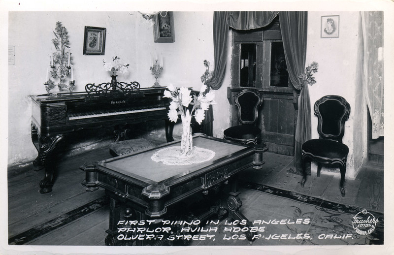 First Piano in Los Angeles