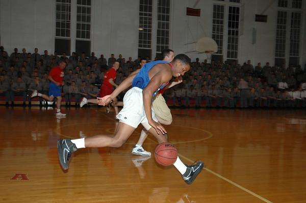 Faculty-Senior Basketball Game