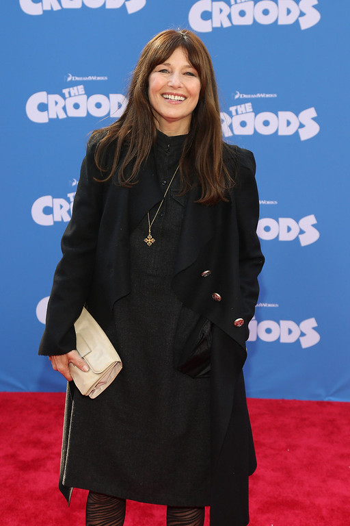 ". Actress Catherine Keener attends ""The Croods\"" premiere at AMC Loews Lincoln Square 13 theater on March 10, 2013 in New York City.  (Photo by Neilson Barnard/Getty Images)"