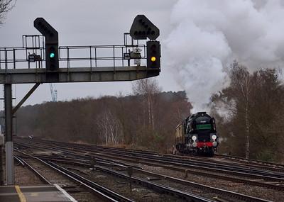 Trains March 2013