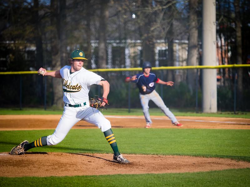 2016-04-06 Grassfield v Great Bridge Varsity Baseball