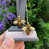 Vintage Bee Conversion Earrings 20