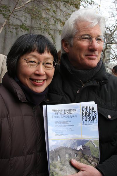 Human Rights in China Communications Director Mi Ling Tsui.  Photo Credit: Ben Kostrzewa.