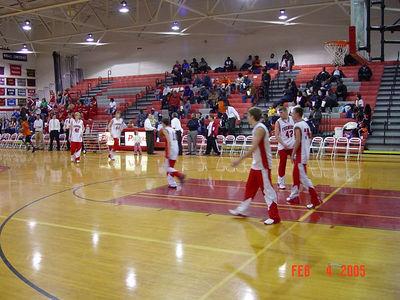 Boys JV Basketball - 2/4/2005 Muskegon Heights