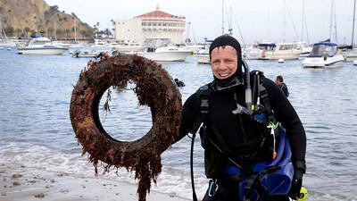 Avalon Underwater Cleanup 2014