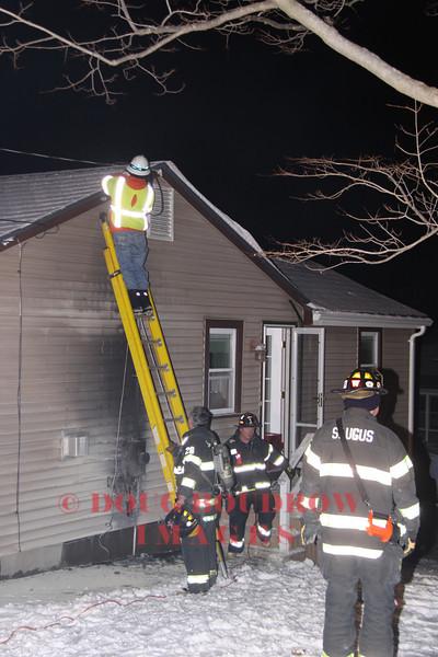 Saugus, MA - Working Fire, 59 Holland Street, 12-31-12