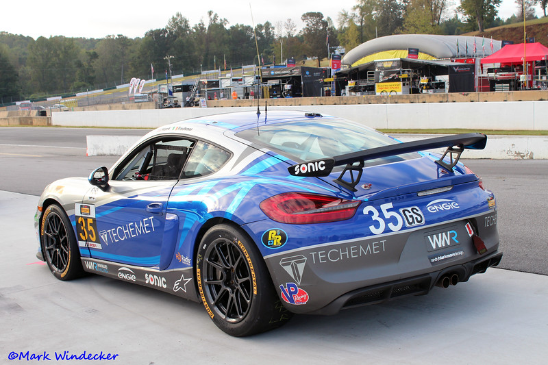 GS-CJ Wilson Racing Porsche Cayman GT4