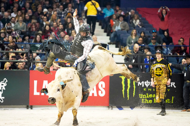 Professional Bull Riders at the Allstate Arena on January 11