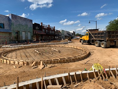 Downtown Center Streetscape Update Week of July 27-31